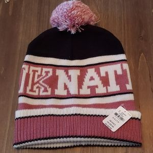 NWT pink Nation Beanie